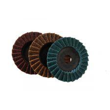 Flap Discs Non Woven - 125mm - Brown Coarse