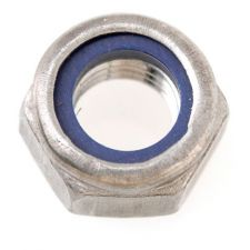 Nyloc Nuts Stainless Steel 304 M6 (100/bx)