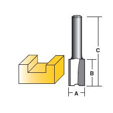 Router Bit Premium 18mm - Straight Bit (T1464)