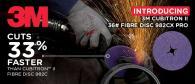 Introducing 3M Cubitron II Fibre Disc 982CX Pro & the Best Freebies EVER